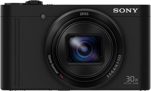 Sony CyberShot DSC-WX500 Zwart Main Image