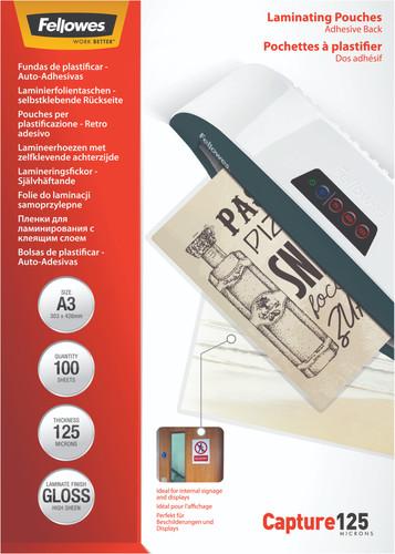 Fellowes Laminating Sheets ImageLast 125mic A3 (100 Units) Main Image