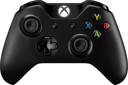 Microsoft Xbox One Draadloze Controller Zwart Main Image