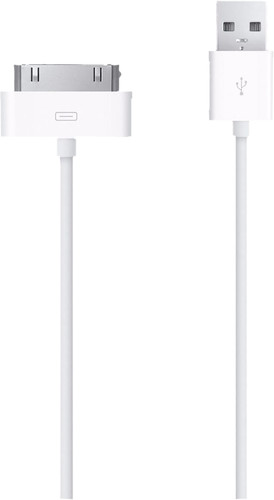 Mobiparts 30 Pin USB Cable 3m White Main Image