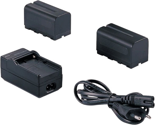 Falcon Eyes 2x Battery NP-F750 + Battery charger SP-CHG Main Image