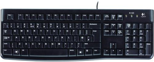 Logitech K120 Keyboard QWERTY Main Image
