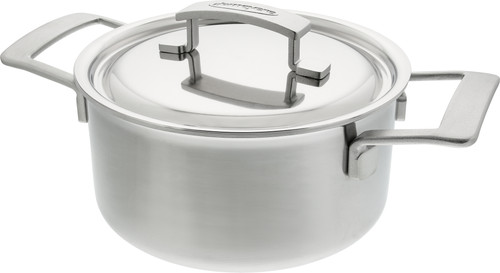 Demeyere Industry Pan with Lid 20cm Main Image