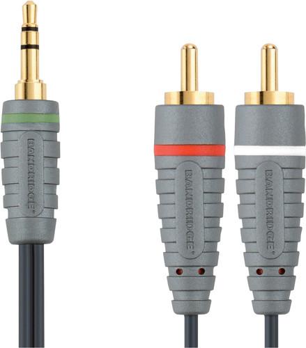 Bandridge 3,5 mm naar RCA Kabel 2 Meter Main Image