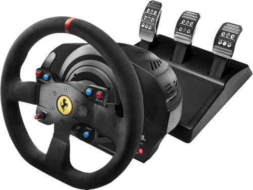 Thrustmaster T300 Ferrari Integral Racing Wheel Alcantara Edition Main Image