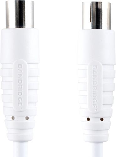 Bandridge Digital Coax Antenna Cable 100 dB 7.5 meter White Main Image