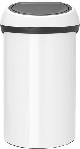 Brabantia Touch Bin 60 Liter White Main Image