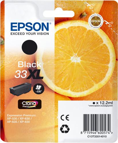 Epson 33XL Cartridge Zwart Main Image