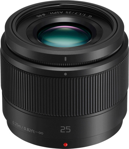 Panasonic Lumix G 25mm f/1.7 Black Main Image