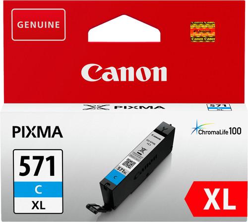 Canon CLI-571XL Cartridge Cyaan Main Image