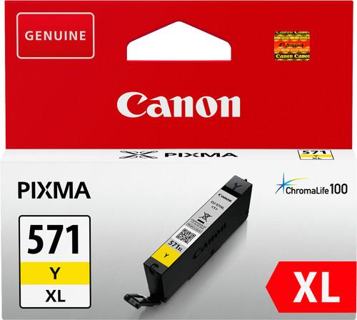 Canon CLI-571XL Cartridge Yellow Main Image