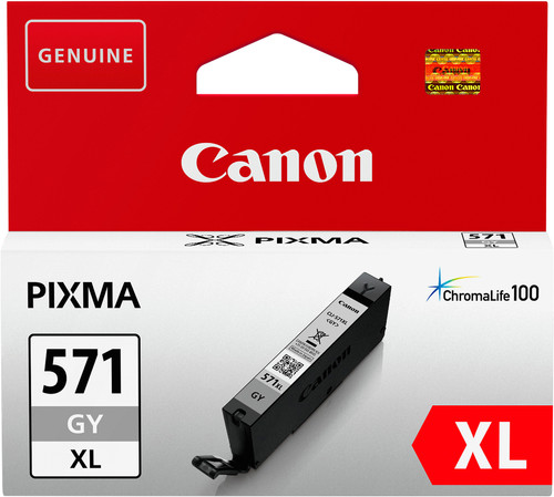 Canon CLI-571XL Cartridge Gray Main Image