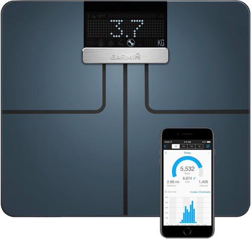 Garmin Index Smart Scale Zwart Main Image