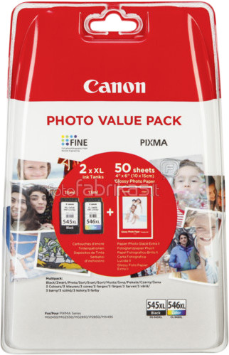 Canon PG-545XL/CL-546XL Value Pack Main Image
