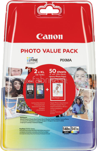 Canon PG-540XL/CL-541XL Value Pack Main Image