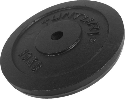 Tunturi Plate 1x 10 kg Black Main Image