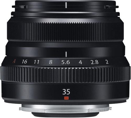 Fujifilm XF 35mm f/2.0 R WR Black Main Image
