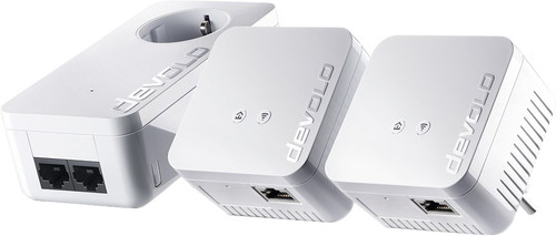 Devolo dLAN 550 WiFi 550Mbps 3 adapters Main Image