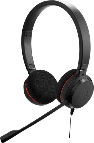 Jabra Evolve 20 UC Stereo Wired Office Headset Main Image
