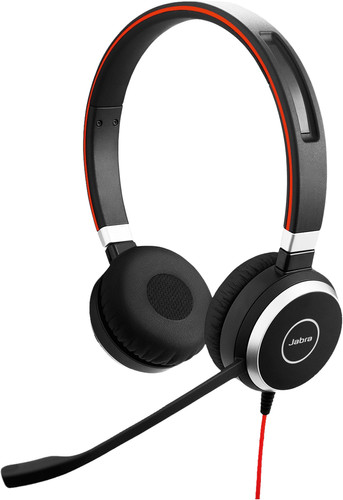 Jabra Evolve 40 UC Stereo Wired Office Headset Main Image