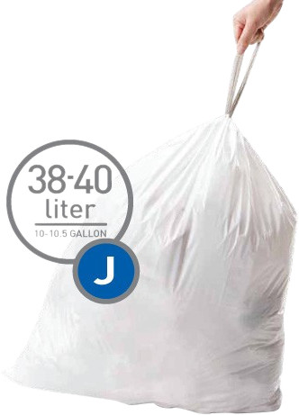 Simplehuman Afvalzakken Code J - 38-40 Liter (60 stuks) Main Image
