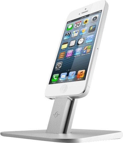 Twelve South HiRise Apple iPhone iPad Stand Zilver Main Image