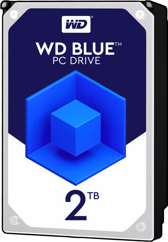 WD Blue HDD 2TB Main Image