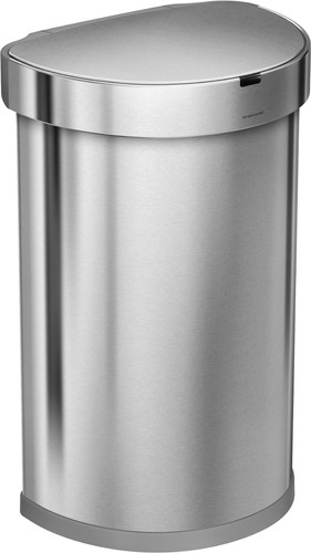 Simplehuman Semi-round Sensor Liner Pocket 45 Liter RVS Main Image