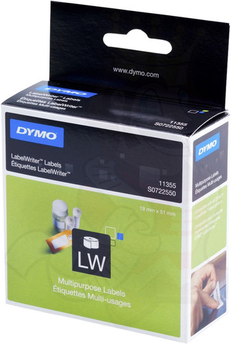 DYMO Universal Labels (19 mm x 51 mm) Main Image