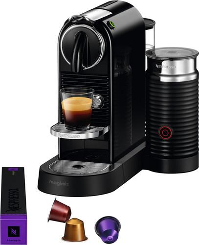 Magimix Nespresso CitiZ & Milk M196 Black Main Image