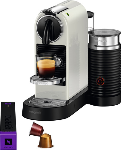 Magimix Nespresso CitiZ & Milk M195 White Main Image