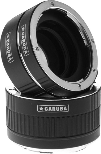 Caruba Extension Tube set Canon Chrome (type II) Main Image