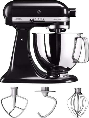 KitchenAid Artisan Mixer 5KSM125 Onyx Black Main Image