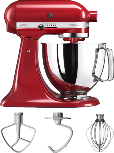 KitchenAid Artisan Mixer 5KSM125 Keizerrood Main Image