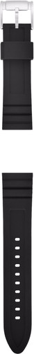 Fossil Q 22 mm Silicone Watchband Black Main Image