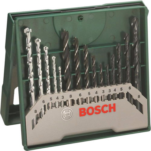 Bosch 15-delige Borenset Main Image