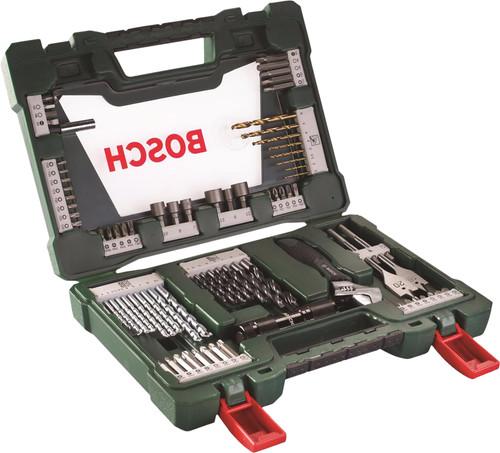 Bosch 83-delige Bit- en Borenset met LED Zaklamp Main Image