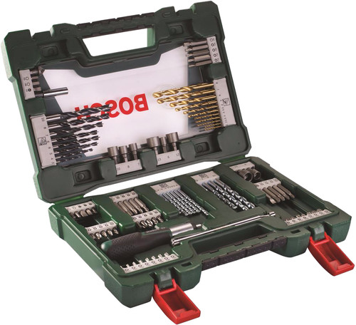 Bosch 91-piece Bit and Borenset with Screwdriver and Pen Main Image
