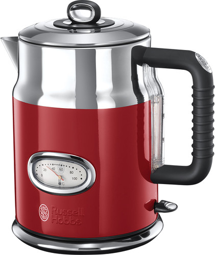 Russell Hobbs Retro Ribbon Kettle Red Main Image