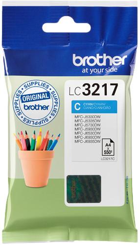 Brother LC-3217 Cartridge Cyan Main Image