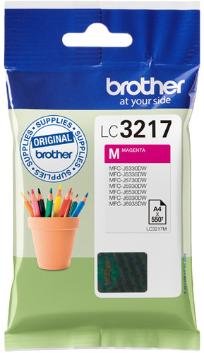 Brother LC-3217 Cartridge Magenta Main Image