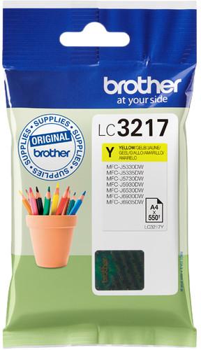 Brother LC-3217 Cartridge Yellow Main Image