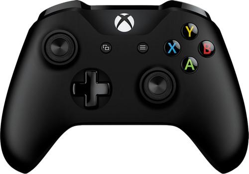 Microsoft Xbox One Draadloze Controller Zwart + Kabel Main Image