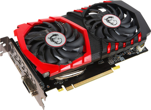 MSI GeForce GTX 1050 Ti Gaming X 4G Main Image