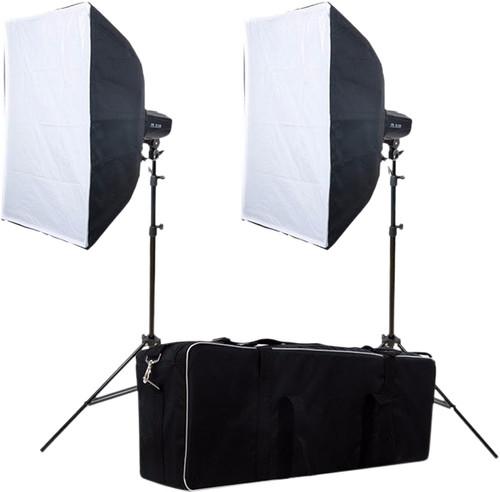 Falcon Eyes Studio Flash Set SSK-2200D with Bag Main Image