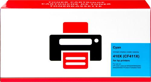 Pixeljet 410X Toner Cyaan XL voor HP printers (CF411X) Main Image