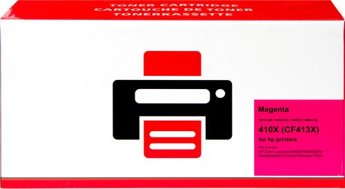 Pixeljet 410X Toner Magenta XL voor HP printers (CF413X) Main Image