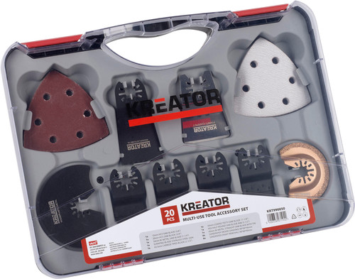 Kreator KRT990050 Multitool Accessory set Main Image