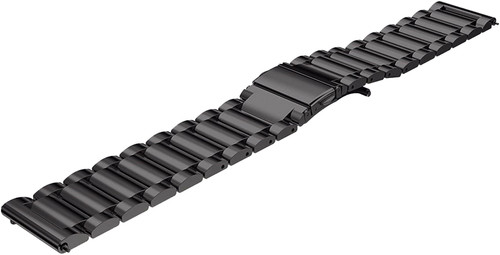 Just in Case Samsung Gear S3 Stainless Steel Watchband Black Main Image