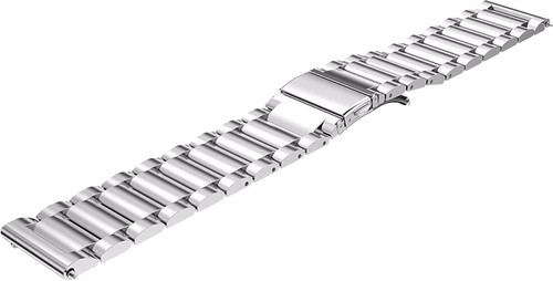 Just in Case Samsung Gear S3 Stainless Steel Watchband Silver Main Image